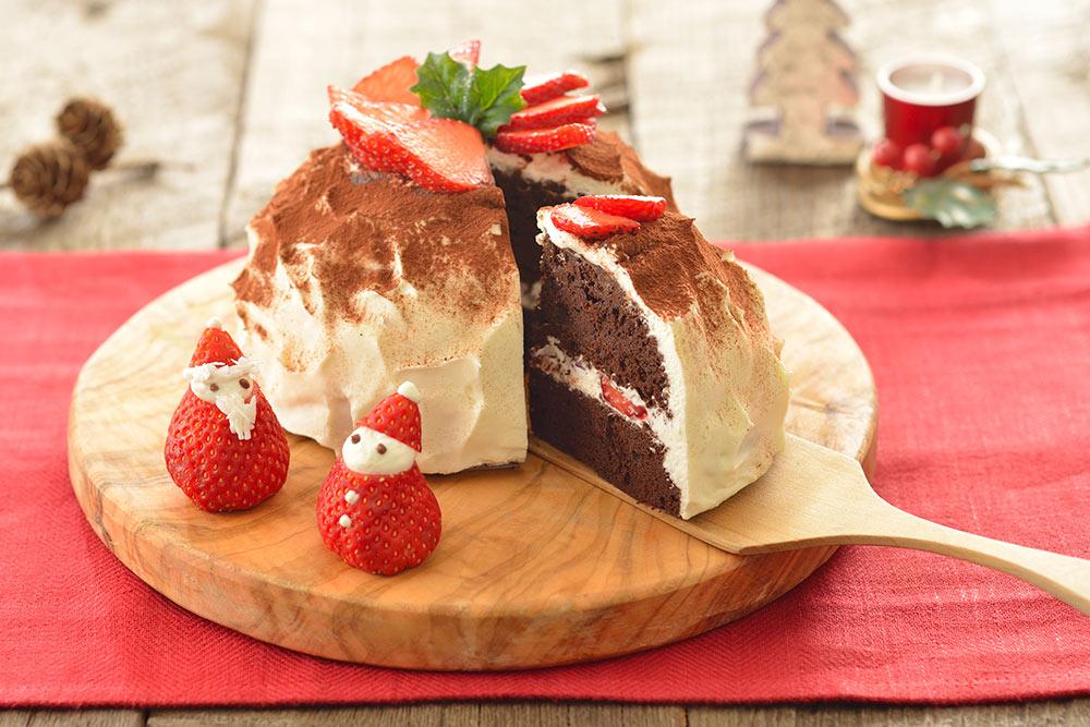 料理写真 クリスマスケーキ